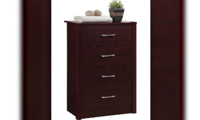 Recalled Hodedah HI4DR 4-drawer chest. (via screen shot)