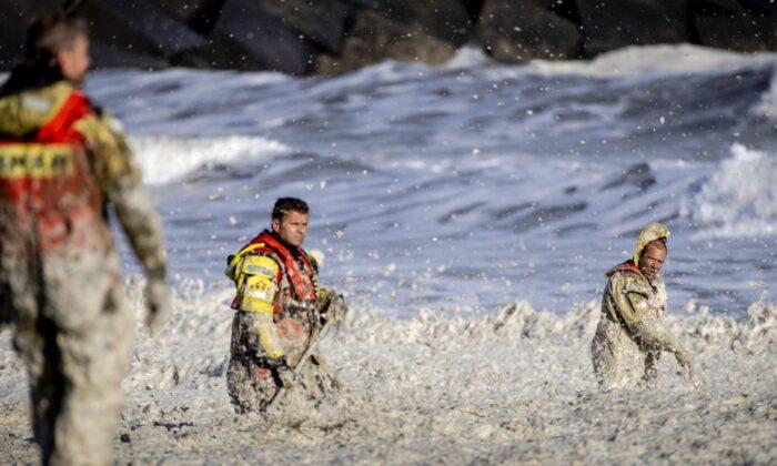 Surfers killed Scheveningen Netherlands