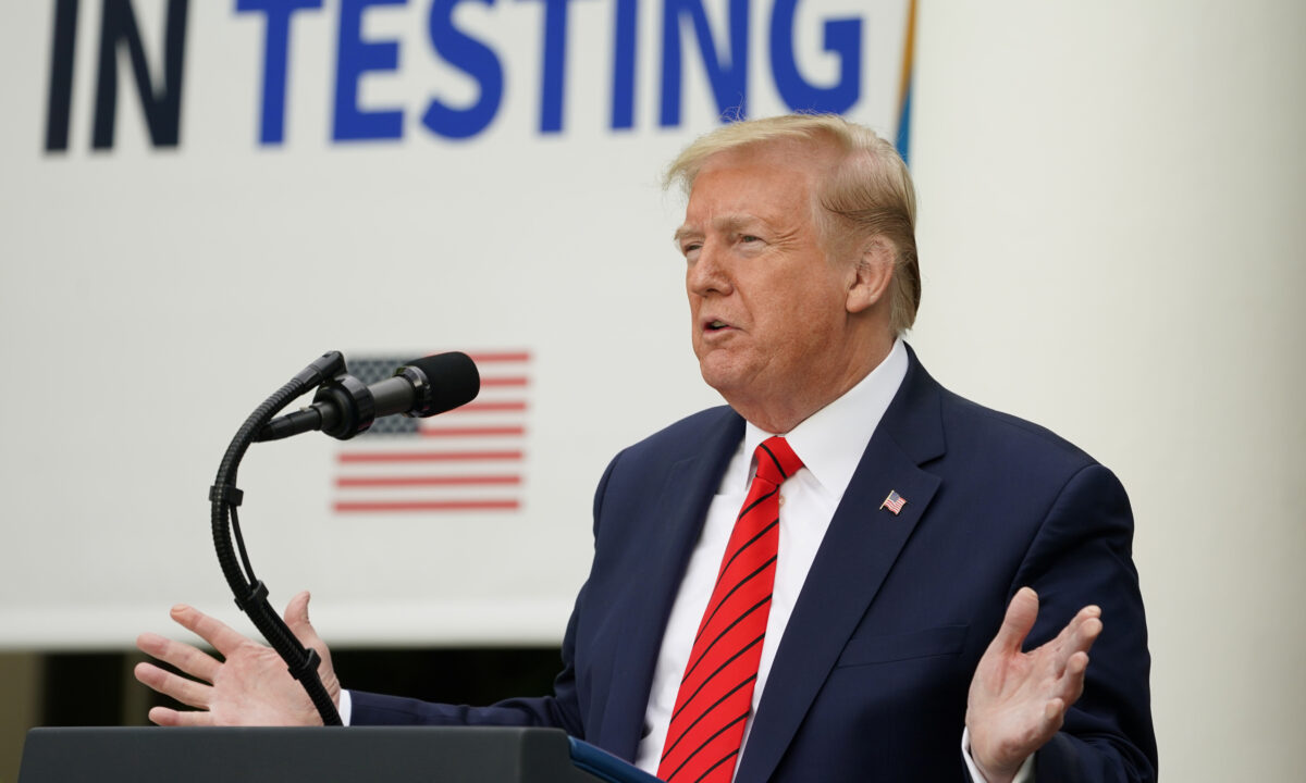 Trump CCP virus briefing