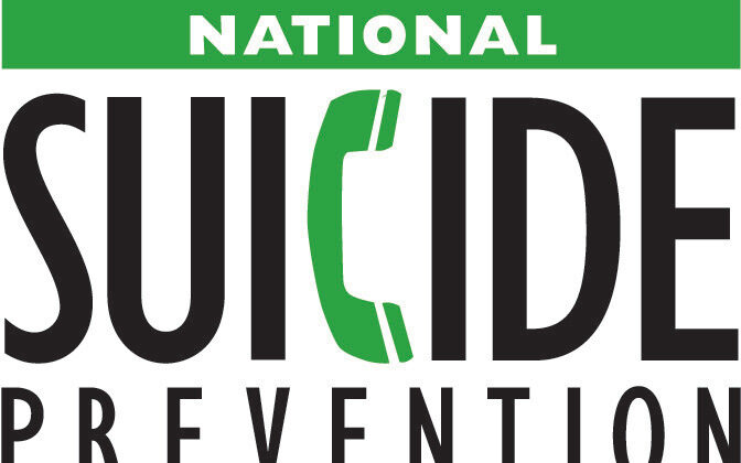 Logo of the National Suicide Prevention Lifeline. (	U.S. Department of Health and Human Services - Substance Abuse and Mental Health Services Administration)