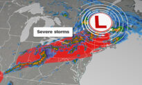 Severe Storms With Isolated Tornadoes Are Likely Across the Northeast Today
