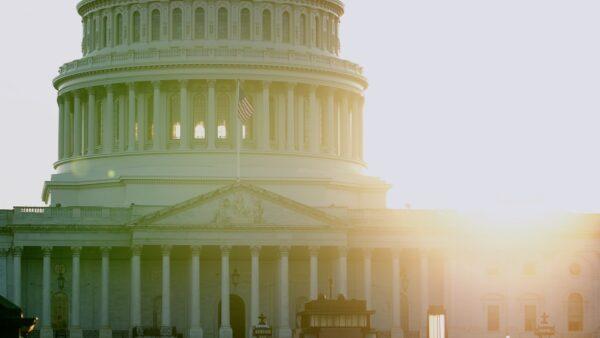 US flag flown in honor of Falun Dafa Day