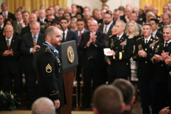 Trump Awards Medal Of Honor To Retired Army Combat Medic Ronald Shurer