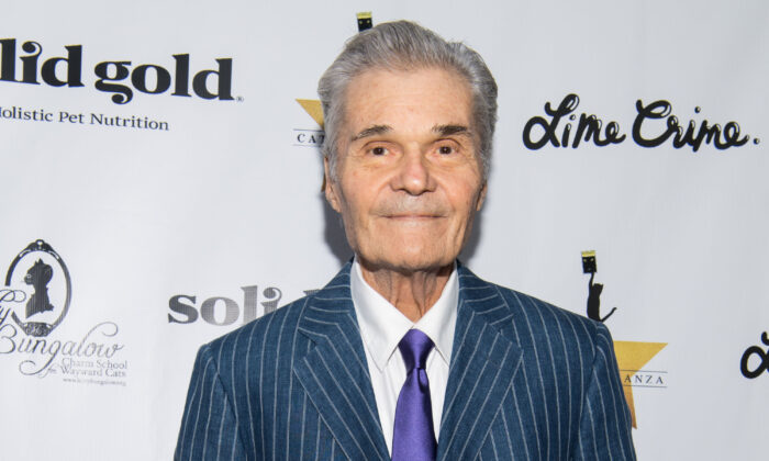 Actor Fred Willard attends 'CATstravaganza featuring Hamilton's Cats' in Hollywood, California, on April 21, 2018. (Emma McIntyre/Getty Images for Kitty Bungalow)