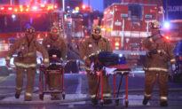 11 Firefighters Injured in Major Emergency as Fire Engulfs Downtown LA Building