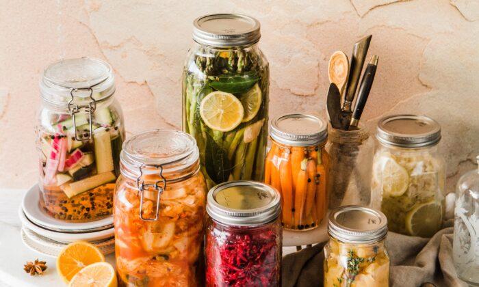 Various pickled delights. (Brooke Lark/Unsplash)