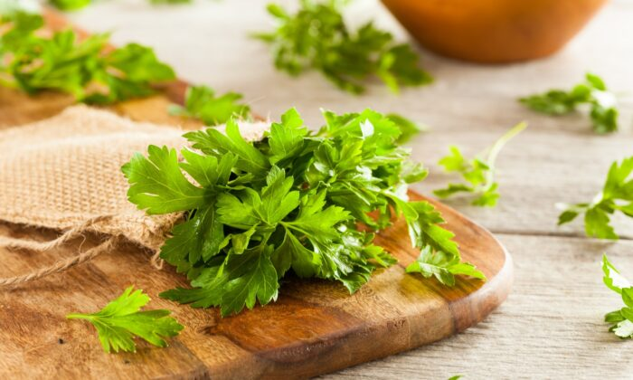 Parsley is the unsung hero of the kitchen. (Courtesy of Cider Mill Press)