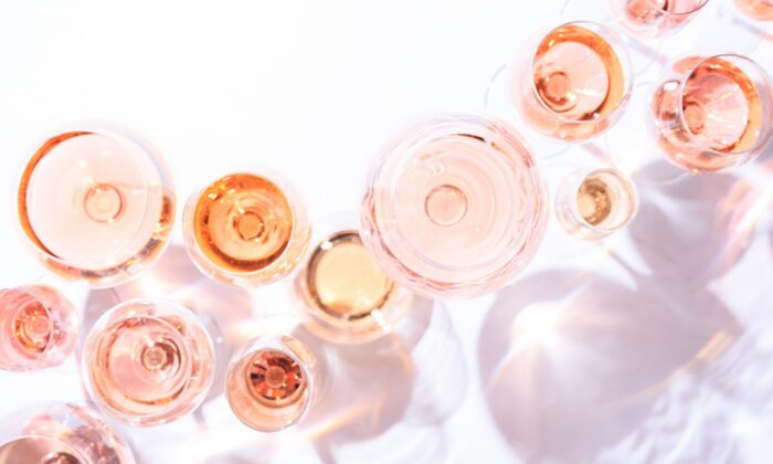 Excellent rosés come in many shades, from beige-pink to blush to garnet. (Frederick Wildman)