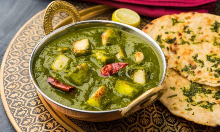Palak paneer, a popular Indian dish.  (StockImageFactory.com/Shutterstock)
