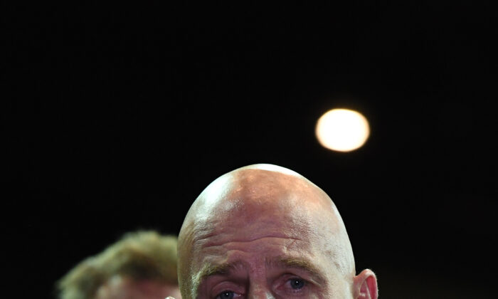 Peter Gutwein, Premier of Tasmania, Hobart, Australia, February 28, 2020. (Steve Bell/Getty Images)