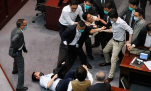 Hong Kong Lawmakers Clash as Pro-Beijing Camp Bypasses Process to Elect Chair After 6 Month Deadlock