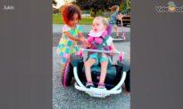 Children's true friendship