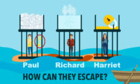 Three Friends Are Locked in Cages: Can You Solve This Nail-Biting Survival Riddle?