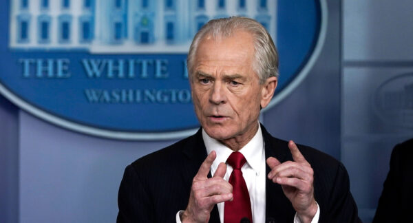 White House Trade and Manufacturing Policy Director Peter Navarro