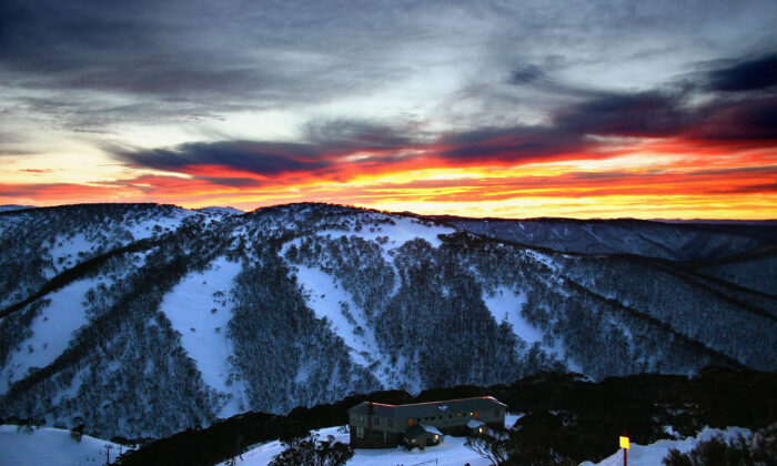 Mount Hotham ski resort in the Victorian Alps offers 245 hectares of skiing terrain. (Stuart Hannagan/Getty Images)