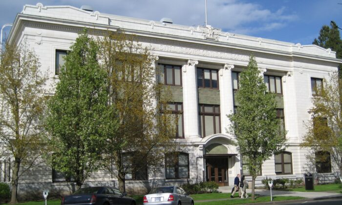 An exterior view of the Oregon Supreme Court Building in Salem, Oreg. (Public Domain/Wikimedia Commons)