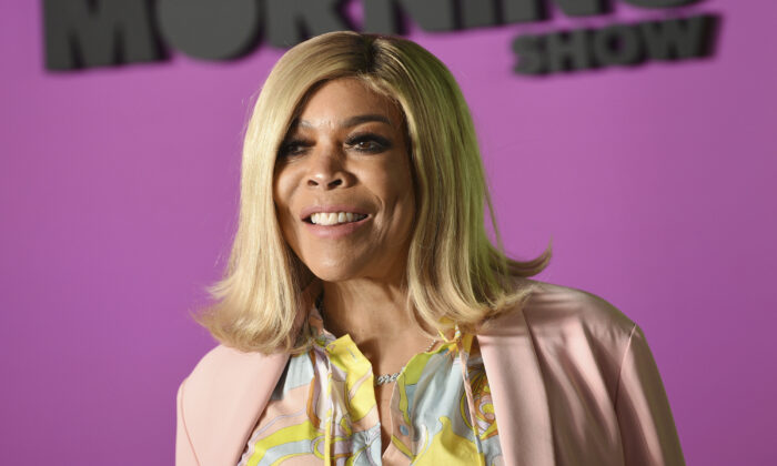 """Wendy Williams attends the world premiere of Apple TV+'s """"The Morning Show"""" in New York, on Oct. 28, 2019.  (Evan Agostini/Invision/ File/AP)"""