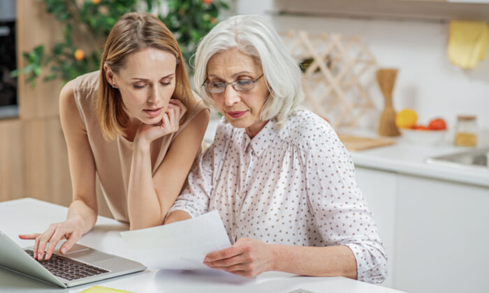 Huddleston's poll found that 10 percent of Americans are more comfortable talking to their parents about their romantic life than their parents' finances. (Olena Yakobchuk/Shutterstock)