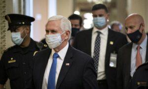 Unlike Trump, Pence Isn't Taking Hydroxychloroquine