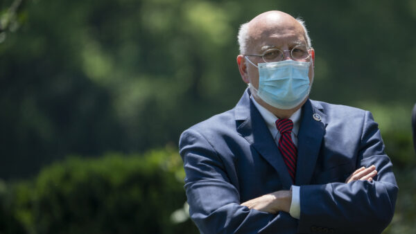 Dr. Robert Redfield, director of the Centers for Disease Control and Prevention (CDC)