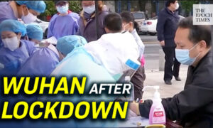 Wuhan after Lockdown: Bleak Shopping Mall and Crowded Hospital