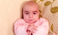Mom Draws Backlash Online for Drawing Eyebrows on Baby Daughter–but Her Response Is Perfect