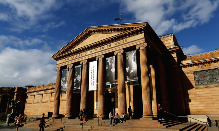 The Art Gallery of New South Wales in Sydney, Australia is reopening on June 1. (Brianne Makin/Getty Images)