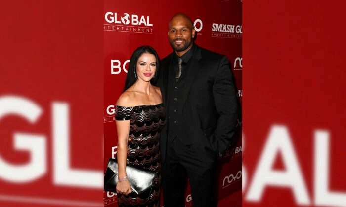 """Siliana and Shad Gaspard attend """"SMASH Global VIII: Night Of Champions"""" at Taglyan Cultural Complex in Hollywood, Calif., on Dec. 13, 2018. (Joe Scarnici/Getty Images)"""