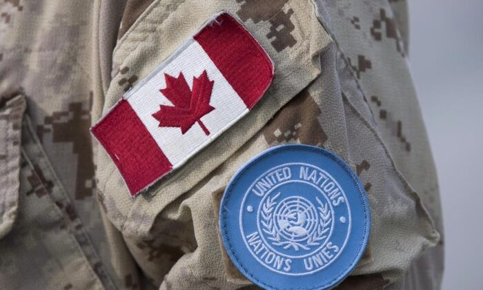 Canada seeks a coveted seat on the United Nations Security Council, but its military and police officers deployed on peacekeeping operations represent the smallest number in about 60 years. (The Canadian Press)