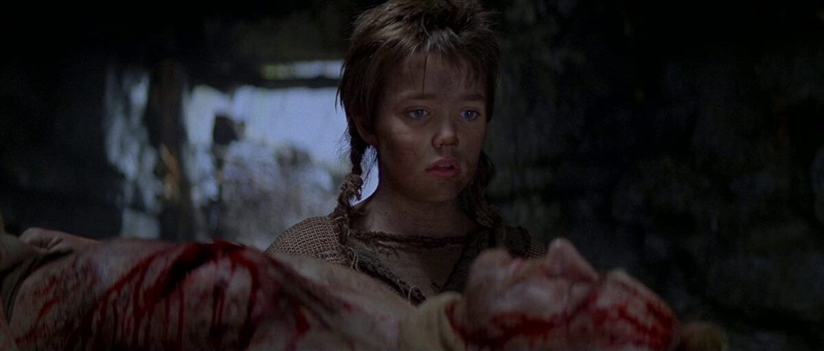 """young boy stares at dead father in """"Braveheart"""""""