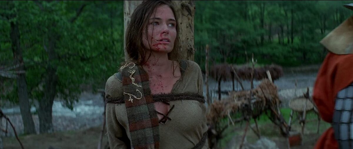 """woman tied to stake in """"Braveheart"""""""