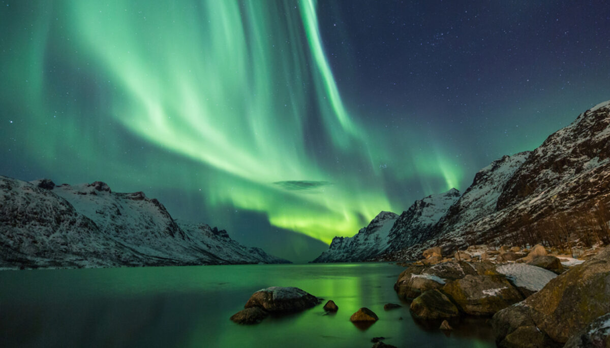 Stunning image of giant phoenix-shaped aurora captured amid the Northern Lights