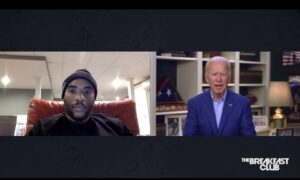 Biden's Remarks on 'Breakfast Club' Reveal 'Nostalgia for Racism'