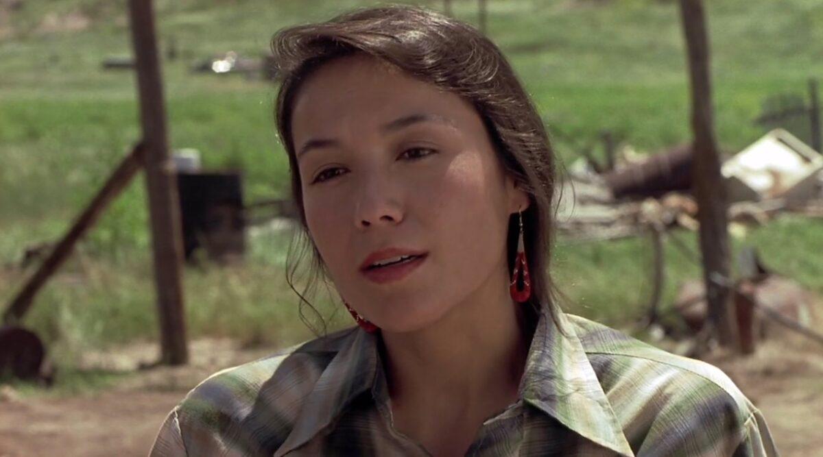 """Sioux woman in """"Thunderheart"""""""