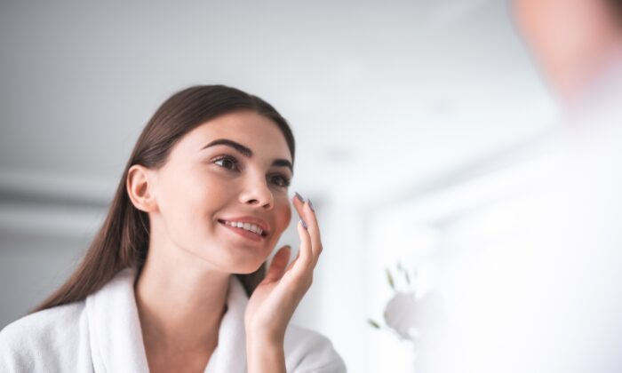 The microbiota on the skin is the body's first line of defense against harmful bacteria and other foreign invaders. (Olena Yakobchuk/Shutterstock)