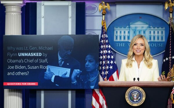White House Press Secretary Kayleigh McEnan