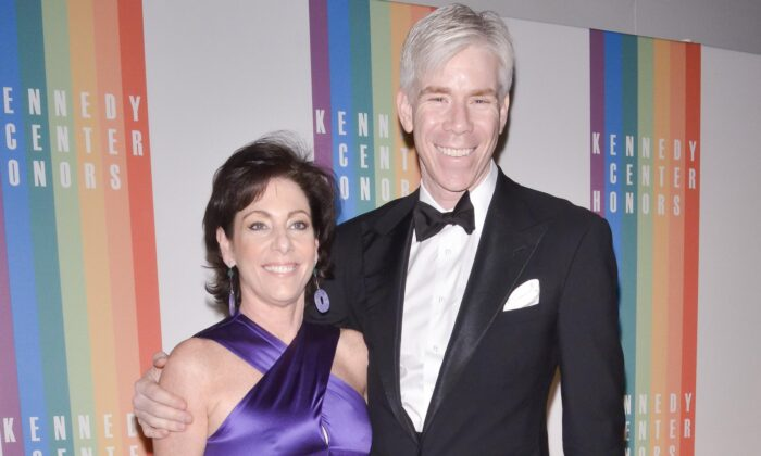 Beth Wilkinson and David Gregory in Washington on Dec. 8, 2013. (Kris Connor/Getty Images)