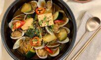 Doenjang Jjigae (Korean Fermented Soybean Stew)