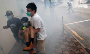 Tear Gas Fired as Hong Kong Protesters Return to Streets Against China's National Security Law