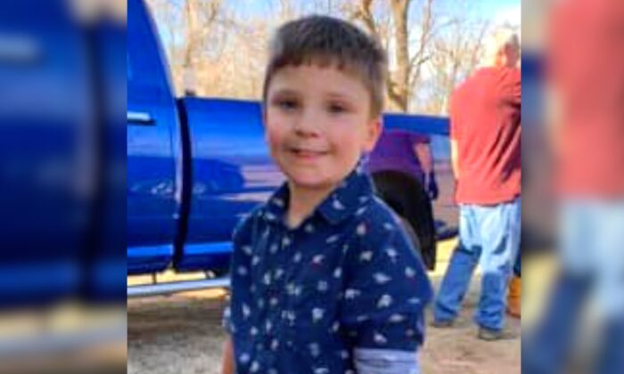 Triston Weeden, 9, in a file photo. (Oklahoma Highway Patrol)