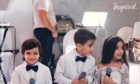 Children Sing Beautiful Song At Cousin's Wedding