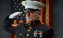 'The Saluting Marine' Honors Veterans on Memorial Day Weekend