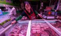 China's Pork Imports in April Jump 170 Percent to Record High