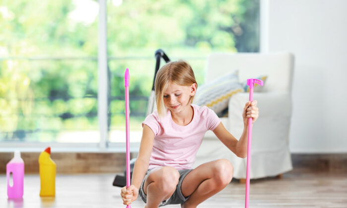 Chores need to be completed, but having some choice about how they are accomplished can help children feel less pressured and coerced, which undermines their motivation. (Africa Studio/Shutterstock)