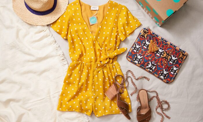 Walmart announced a partnership with resale platform ThredUp to sell previously owned branded clothing, shoes, handbags, and more online. (Walmart)