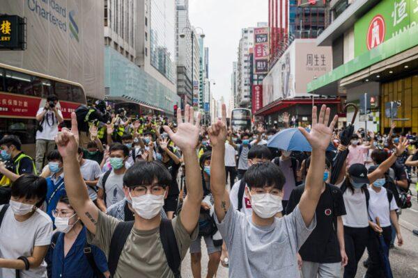 hong kong protest mong kok
