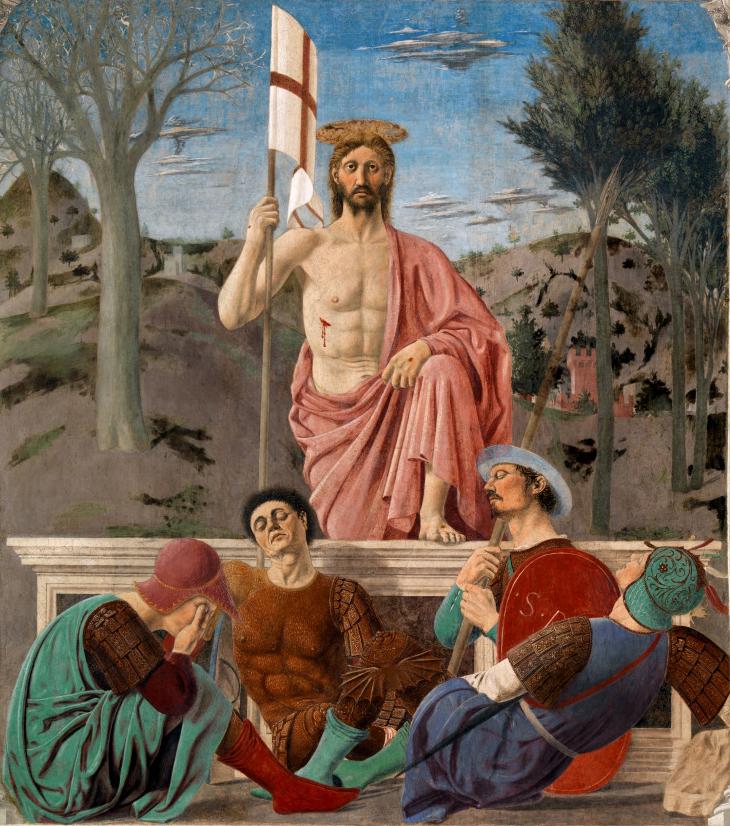 """The Resurrection"" by Piero della Francesca"