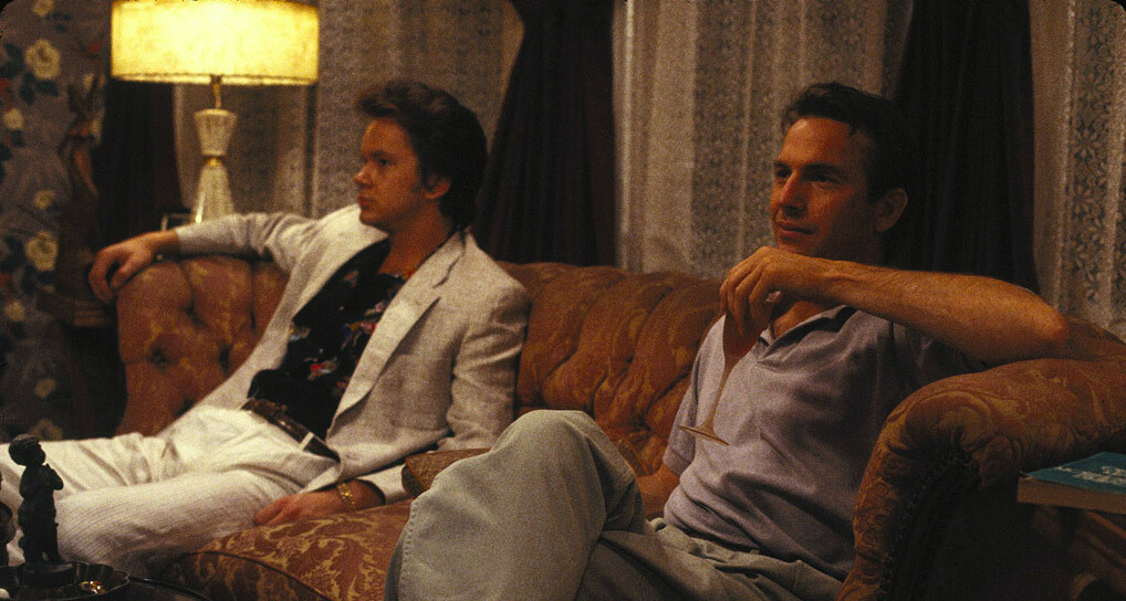 """two men on a couch in """"Bull Durham"""""""