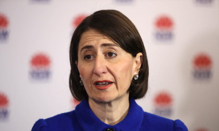 NSW Premier Gladys Berejiklian, Sydney, Australia, May 11, 2020. (Mark Kolbe/Getty Images)