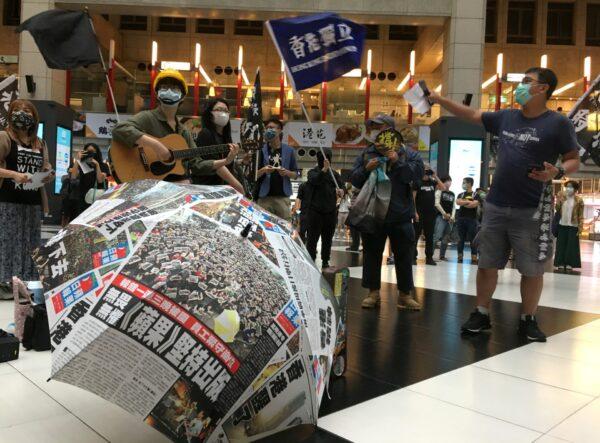 HONGKONG-PROTESTS-TAIWAN